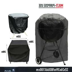 "BBQ Gas Grill Cover S"" Barbecue Waterproof Outdoor Heavy Dut"