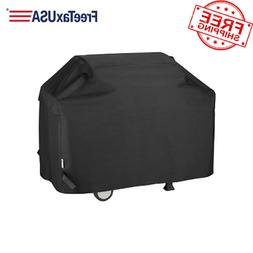 "BBQ Gas Grill Cover Water Resistant 65"" for Weber Charbroil"