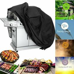 "BBQ Grill Cover 57"" Gas Barbecue Heavy UV Duty Protection Wa"