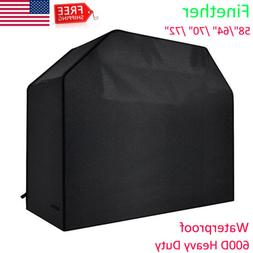 """BBQ Grill Cover 58"""" 64"""" 70"""" 72"""" Gas Barbecue Heavy Duty 600D"""