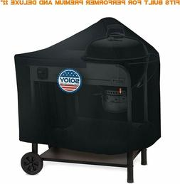 "BBQ Grill Cover For 22"" Weber Performer Premium & Deluxe Cha"