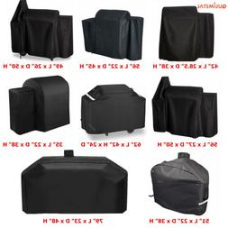 Heavy Duty Waterproof BBQ Grill Cover Fits Weber Char-Broil