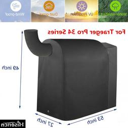 BBQ Grill Cover for Traeger 34 Series Pro 780, Texas Elite 3