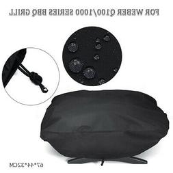 BBQ Grill Cover For Weber 7110 Q100 Series Waterproof Dustpr