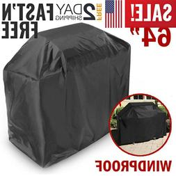 "58"" BBQ Grill Cover Gas Barbecue Heavy Duty Waterproof Outdo"