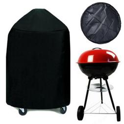 "BBQ Grill Cover w/ drawstring fits Weber Jumbo Joe Gold 15""/"