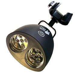SNAP that NOW BBQ Grill Light - Black, BAR Metal CLAMP, 10 L
