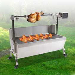 Samger BBQ Pig Lamb Rotisserie Roaster Skewer Roast Grill Mo
