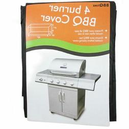 BBQ Vinyl Cover Protects Grill Outdoor Barbecue Cart Fits Mo