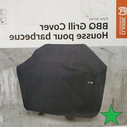 """Black BBQ Gas Grill Cover 52"""" Small Barbeque Protect Waterpr"""