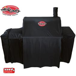 Char-Griller 37-in x 50-in Black Polyester Charcoal Grill Co