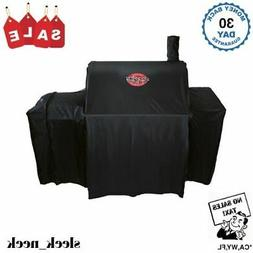 Char Griller 37-in x 50-in Black Polyester Charcoal Grill Co