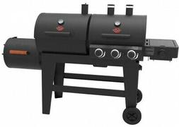 Charcoal Grill Bbq Char-Griller Smoker Black Outdoor Cooking