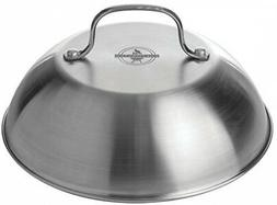 "Chefmaster 9"" Grill Dome Cover, BBQ Grill Accessory Melts Ch"