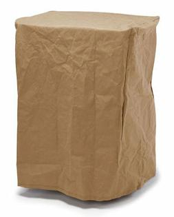 Budge Chelsea Waterproof Square Smoker Grill Cover, Tan