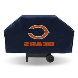 """Chicago Bears Vinyl Grill Cover  NFL 68"""" Economy Wide Grilli"""