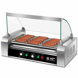 Commercial 18 Hot Dog Grill Cooker Machine Stainless steel 7
