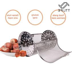 Drum Grilled Cage Oven Roast Basket Baking Rotary Coffee Bea