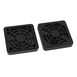 2 Pcs Dustproof Dust Filter Guard Grill Cover for 40mm PC Ca