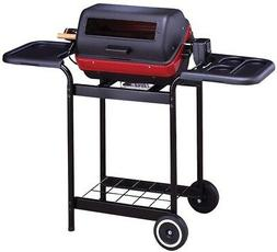 Easy Street Deluxe Electric Cart Grill with Mold Tables & Ro