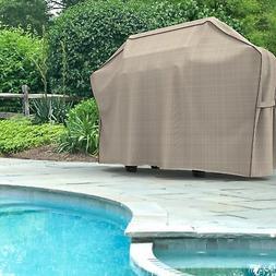 Budge English Garden Heavy Duty Waterproof BBQ Grill Cover F