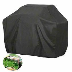 FLR Gas Grill Cover Large XL 66 inches Black Waterproof Outd