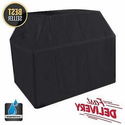 "BBQ Gas Grill Cover 58"" Heavy Duty Waterproof Outdoor Weber"