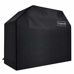 Homitt Gas Grill Cover, 58-inch 3-4 Burner 600D Heavy Duty W