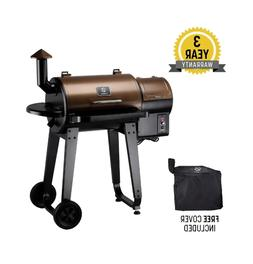 Gas Grill Smoker Combo, Wood Pellet + Free Cover