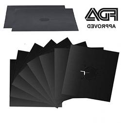 Gas Stove Burner Covers 8 Pack - Stove Top Grill, Griddle fo