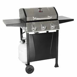 Grill Boss GBC1932M Outdoor 3 Burner Gas Grill with Top Cove