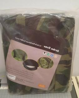 Garden Home Outdoor Grill Cover , 52-Inch, Camo