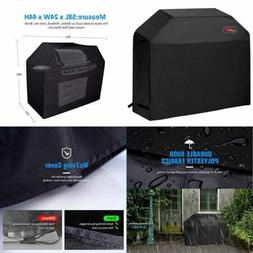 "Grill Cover 58"" Waterproof BBQ 600D Heavy Duty Gas For Weber"