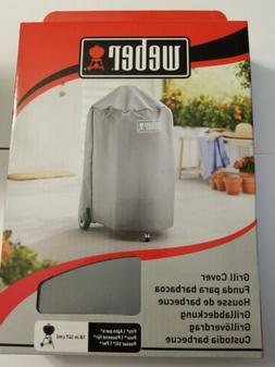 Weber Grill Cover 7175 Fits 18-Inch Charcoal Kettle BBQ Gray