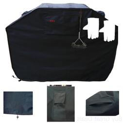"""KMA Grill Cover - Up to 58"""" Wide, Heavy Duty - Fits Weber ,"""