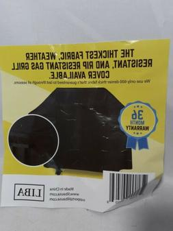 """Liba Grill Cover, Black, 60"""" Wide x 48 Long,"""