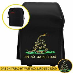 Grill cover with Gadsden logo 30 inch Heavy Duty Waterproof