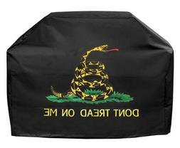 Grill cover with Gadsden logo 30 inch Heavy Duty Waterproof