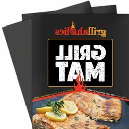 Grillaholics Grill Mat - Set of 2 Heavy Duty BBQ Grill Mats
