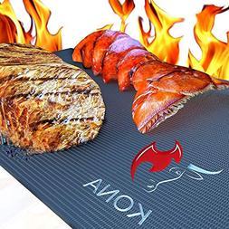 Kona XL Best Grill Mat - BBQ Grill Mat Covers The Entire Gri