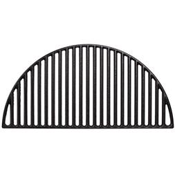 Half Moon Cast Iron Grate,BBQ Grill Grate Fire Pit Grate Cas
