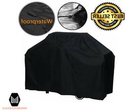 Heavy Duty Gas Grill Cover Waterproof 57-Inch Home Outdoor B