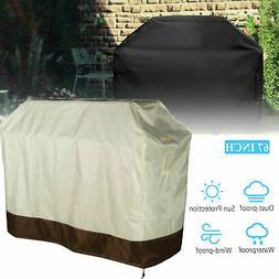 "Home Garden Outdoor 67"" Large BBQ Cover Heavy Duty Waterproo"
