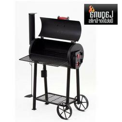 Laguna Just Right Patio Grilling / Smoker Grill Combo Charco