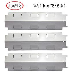 YIHAM KS734 Gas Grill Stainless Steel Heat Plate Shield Tent
