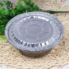 10pcs Outdoor BBQ Aluminum Foil Grease Drip Pans Recyclable