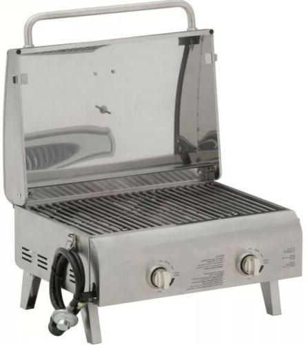 Cuisinart 2 Burner Propane Gas Grill Professional Portable