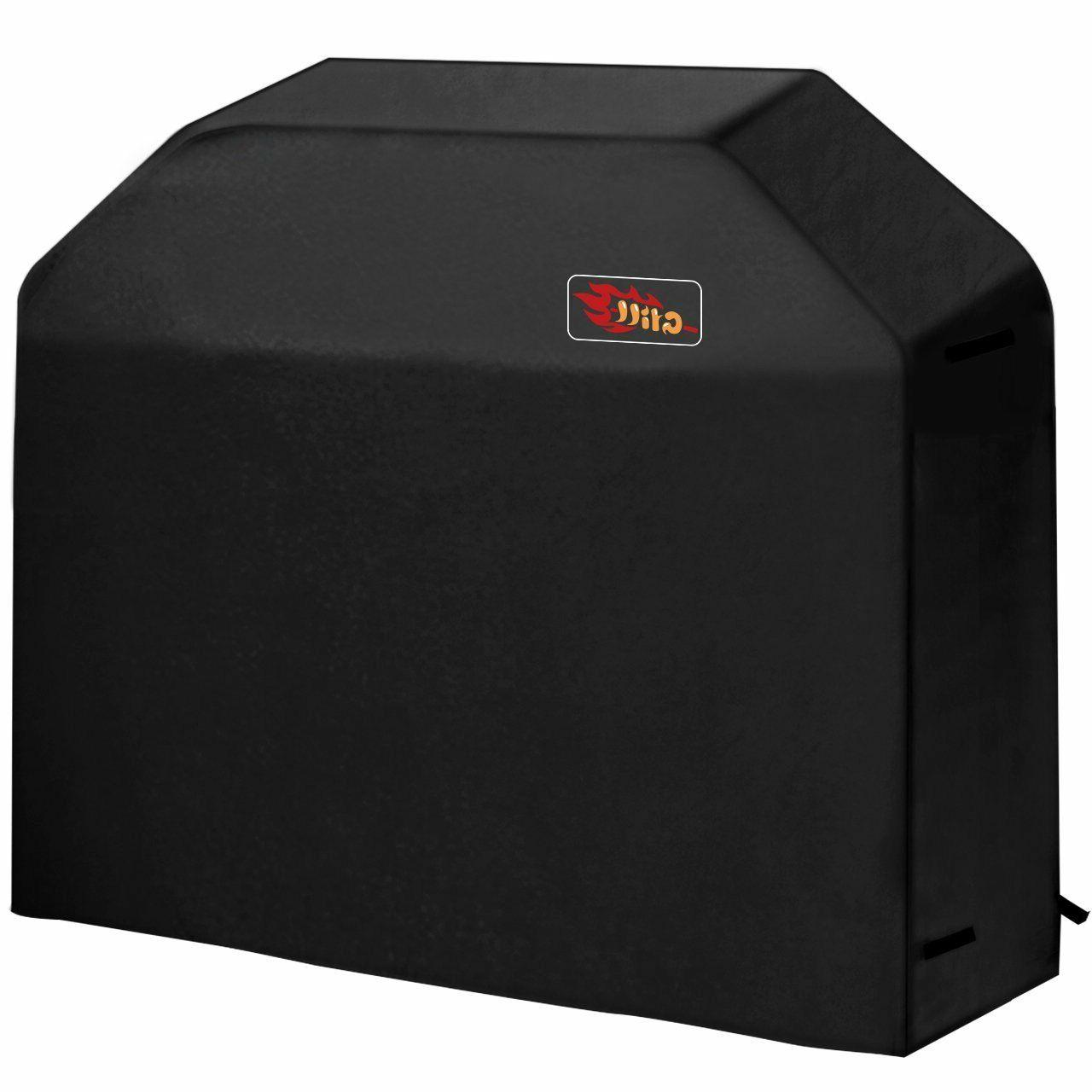 "VicTsing 3-4 Burner BBQ Gas Grill Cover 58"" 600D Waterproof"