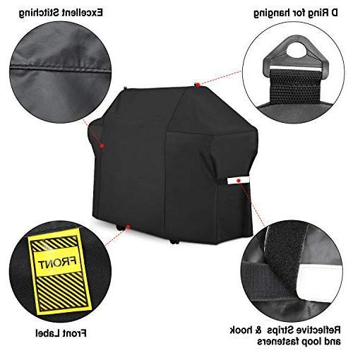 Patiassy Gas Grill 58 Inch 100% Waterproof II Genesis Side Installation, 5