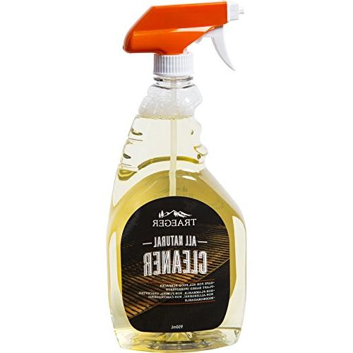 4 Bottles Traeger BAC403 All Natural Cleaner Grill Accessori